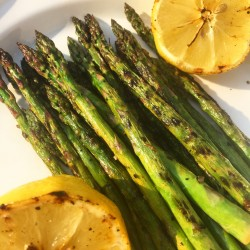 Simple Lemon Grilled Asparagus
